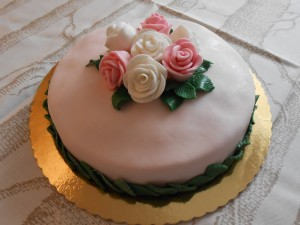 Torta Piccolo Bouquet di Rose