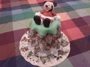 Torta Topolino Natale