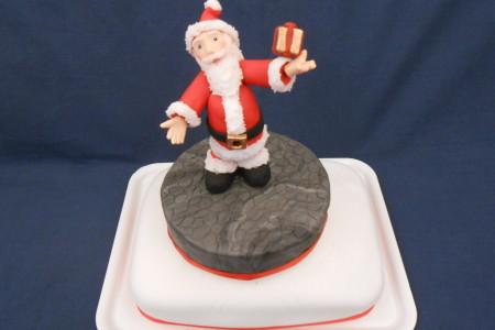 Babbo Natale Con Pacchetto