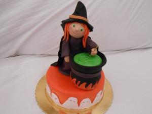 Torta Streghetta di Halloween